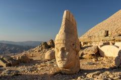 Nemrut bergnationalpark, Adıyaman, Turkiet Royaltyfria Bilder