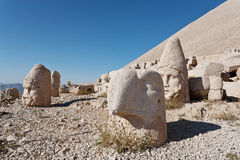 Nemrut dagi heads. Stock Photography