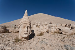 Nemrut dagi heads. Royalty Free Stock Photo