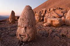 Nemrut dagi heads. Royalty Free Stock Images