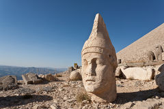 Nemrut dagi heads. Stock Photo