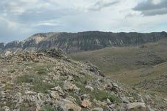 Nemrut Dagi. Mountains on the background of sky.  Royalty Free Stock Image