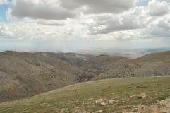 Nemrut Dagi. Mountains on the background of sky.  Stock Image