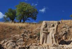 Nemrut Dagi relief Stock Image