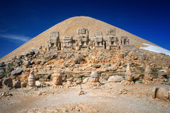 Nemrut Dagi summit Stock Photos