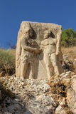 Nemrut mountain national park, Adıyaman, Turkey Royalty Free Stock Photography