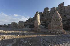 Nemrut Mountain in Turkey Royalty Free Stock Photos