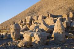 Nemrut statues Stock Images