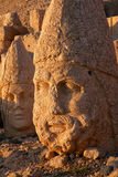 Nemrut - Turkey - Heads of statues on Mount Nemrut Royalty Free Stock Images