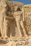 Nemrut - Turkey - Statues on Mount Nemrut Stock Photos
