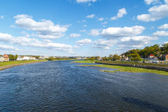 Nemunas River View Stock Photography