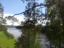 Nemunas rzeka obraz stock