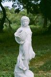 Nemyryntsi-Dorf Skulpturen Lizenzfreies Stockfoto