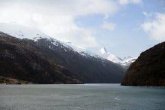 Nena Glacier in the archipelago of Tierra del Fuego. Stock Photography