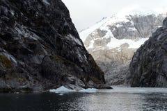 Nena Glacier in the archipelago of Tierra del Fuego. Royalty Free Stock Image