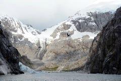 Nena lodowiec w archipelagu Tierra Del Fuego obrazy stock
