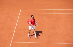 Nenad Zimonjic on Davis Cup, BELGRADE, SERBIA JULY 16, 2016 Stock Images