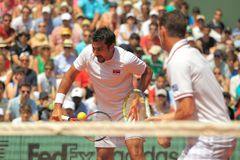 Nenad Zimonjic - tennis Royalty Free Stock Photos