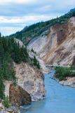 Nenana River. The Nenana River in Alaska in the summer time Stock Photos