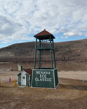 Nenana town Alaska Stock Photo