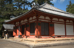 Nenbutsu-do Buddhist Temple, Nara, Japan Royalty Free Stock Image