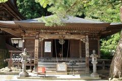 Nenbutsu do of Risshaku ji Yamadera in Yamagata Stock Photo