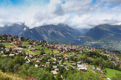 Nendaz Switzerland Royalty Free Stock Images