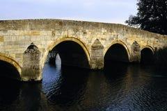 nene na most przez rzekę Zdjęcia Royalty Free