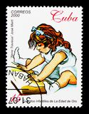 Nene Traviesa, La Edad de Oro,由何塞马蒂serie的黄金时代,大约2000年 免版税库存照片