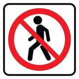 Nenhum ícone da entrada ilustração royalty free