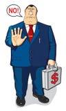 Nenhum dinheiro O dinheiro não dará Fotografia de Stock Royalty Free