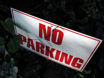 Nenhum estacionamento foto de stock royalty free