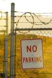 Nenhum estacionamento imagem de stock royalty free