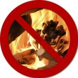 Nenhum fogo Imagens de Stock Royalty Free
