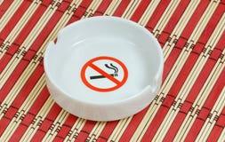 Nenhum fumo na área pública fotografia de stock