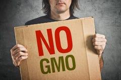 Nenhum GMO. Fotos de Stock