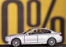 Nenhum interesse no empréstimo automóvel Imagens de Stock Royalty Free