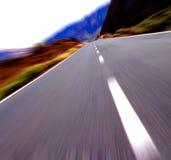 Nenhum limite de velocidade Fotografia de Stock
