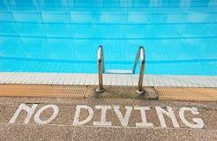 Nenhum mergulho Imagem de Stock
