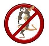 Nenhum rato dos desenhos animados Foto de Stock Royalty Free