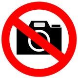 Nenhum sinal da câmera ilustração royalty free