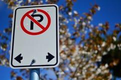 Nenhum sinal do estacionamento Imagens de Stock