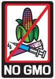 Nenhuma etiqueta de GMO Fotografia de Stock Royalty Free