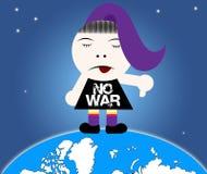 Nenhuma guerra Fotografia de Stock Royalty Free
