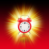 Nenhuma hora - trajeto de grampeamento Imagens de Stock