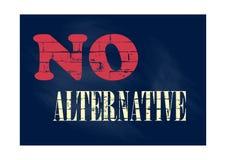 Nenhuma ilustração alternativa do vetor do conceito do negócio ilustração do vetor
