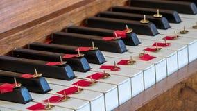 Nenhuma música do piano Imagem de Stock Royalty Free