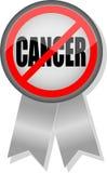Nenhumas tecla e fita do cancro Fotografia de Stock Royalty Free