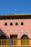 Neo-Arabisch huis Royalty-vrije Stock Foto