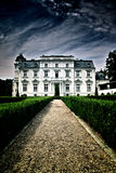 Neo-baroque palace. Neo-baroque park and palace complex in Teresin Poland Royalty Free Stock Image